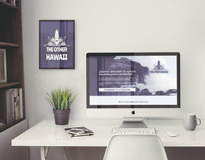 Identidad Corporativa, Banner y creación de recursos para web, THE OTHER HAWAII