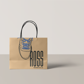 Diseño e ilustración de bolsas corporativas, ROSS