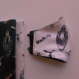 Ilustración para Textil, BLACK LILY