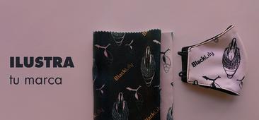 Creación de Motivos para Estampación Textil, BLACK LILY