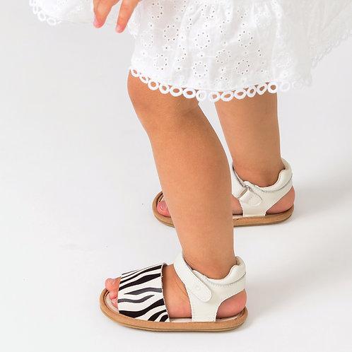 Pretty Brave - Blake Zebra Baby Shoes