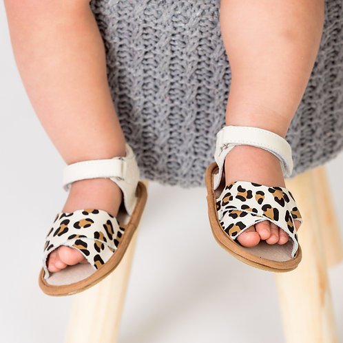 Pretty Brave - Valencia Cheetah Baby Shoes