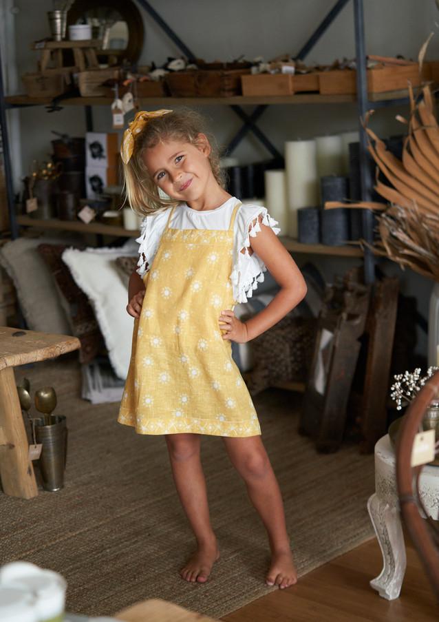 MiiLoveMu Pini Dress SS20GL02 Wing Tasse