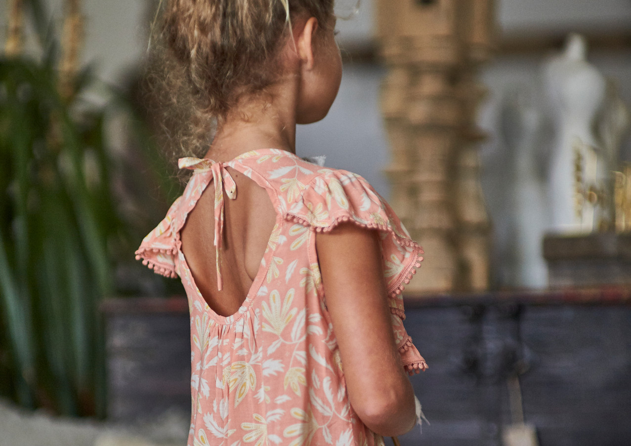 MiiLoveMu Frill Sleeve Dress SS20GL03 (2