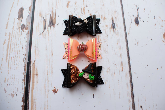 Medium Halloween Bow