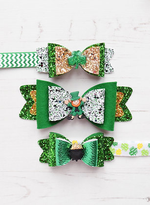 Paddy Day Bows
