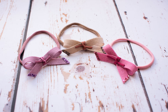 Simple Tie Bow with cord knot