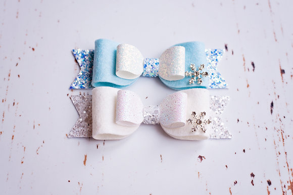 Snowflake Bow