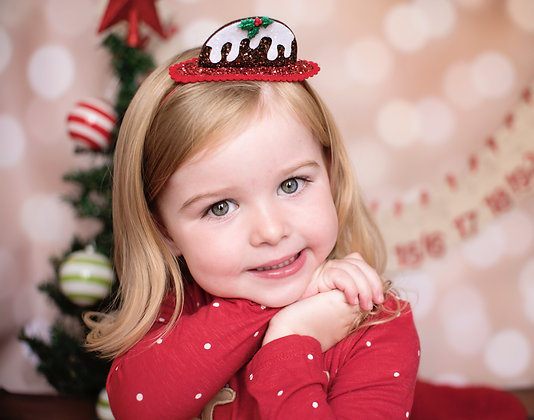 Festive Christmas Pudding Bonnet