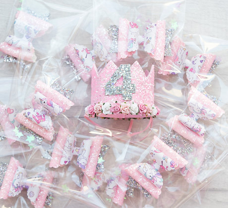Birthday Party Favours & Crown