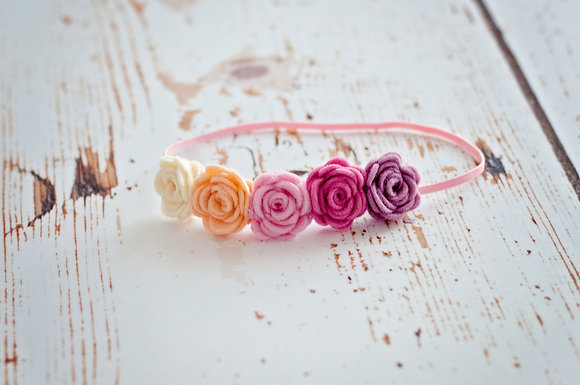 5 small Flower Crown
