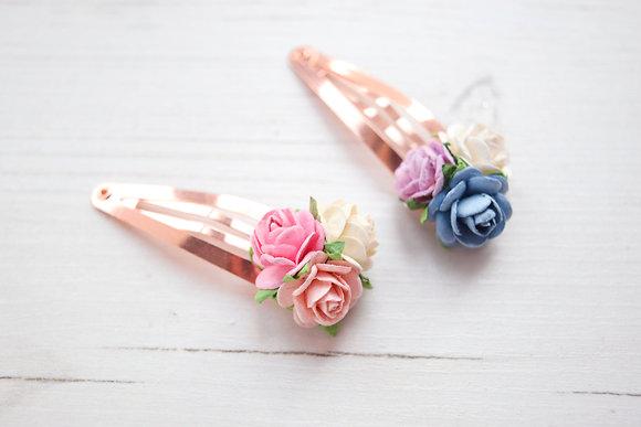 Dainty Flower Snap Clip
