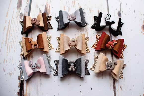 Woodland Animal Bow