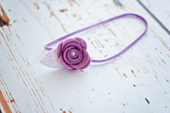 Single Flower Headband
