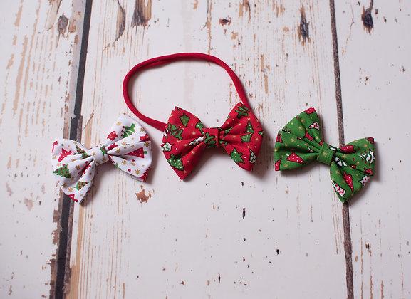 Festive Classic Cotton Pinch Bow
