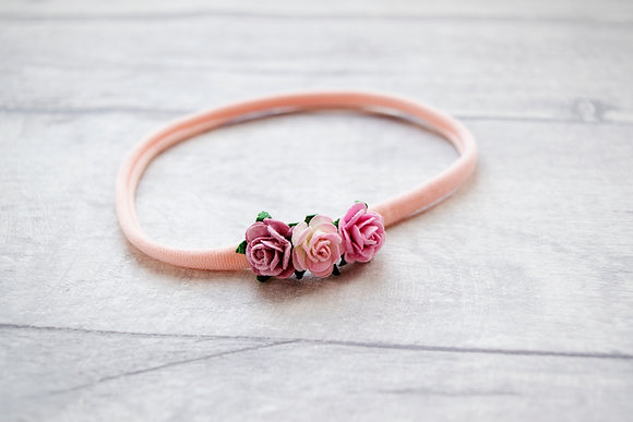 Dainty Flower Headband