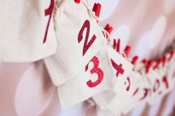 Fill your own - Christmas Advent Calendar PREORDER
