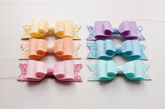 Medium Double Bow Set Of Six