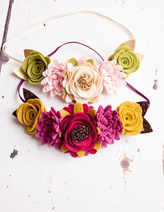 Luxe Flower Crown