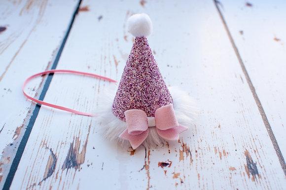 Pink Christmas Santa Hat