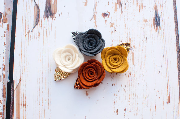 Single Rose Clip