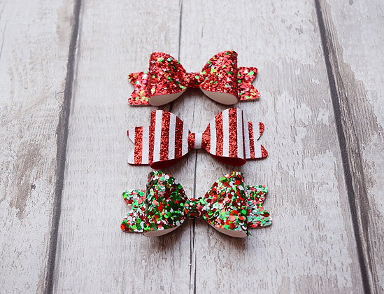 Christmas Candy Bow