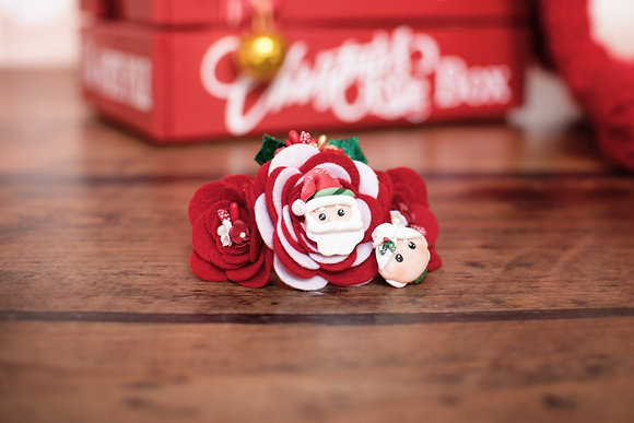 Mr and Mrs Claus Flower Crown