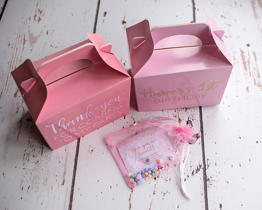 Birthday Party Favour Box
