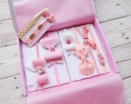Set of 6 - Pink
