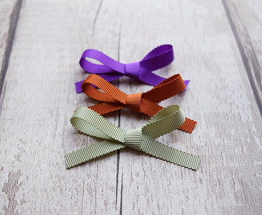 Autumn Ribbon Bow