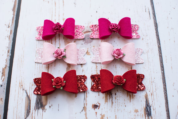 Sprinkles Small Piggy Bow Set