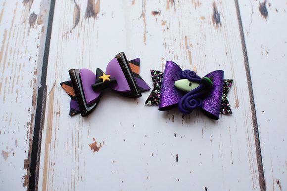Cute Halloween Medium Bow