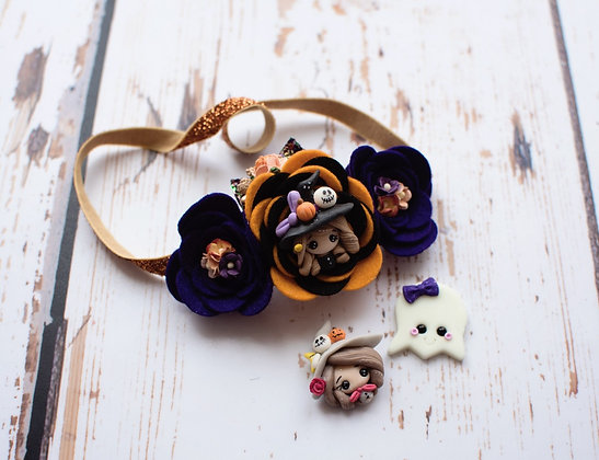 Spooky Halloween Flower Crown