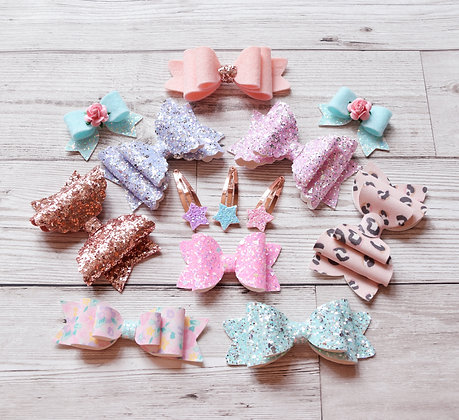 Set of 10 - free star clips!