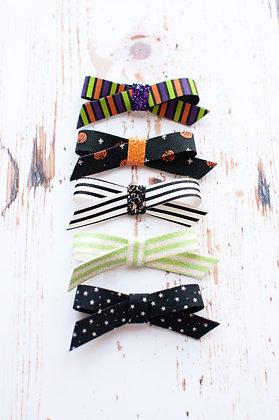 Halloween Simple Tie Bow