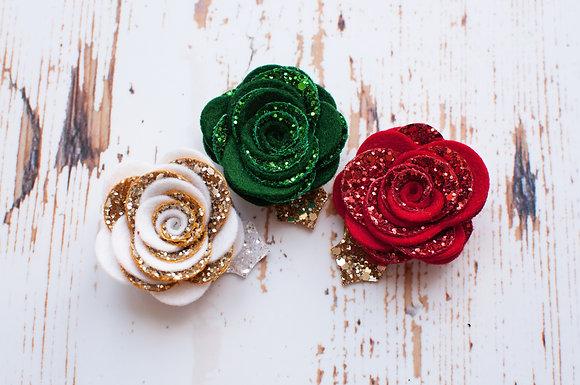 Double Rose Clip