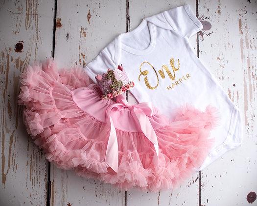 Pink Fluffy Tutu Skirt
