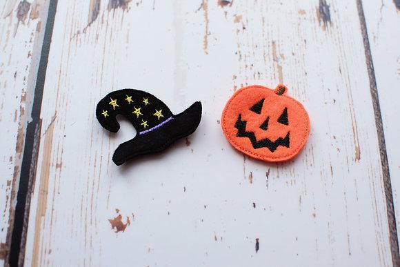 Halloween Fringe Clip Set