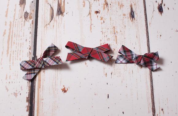 Tartan Classic Tie Bow