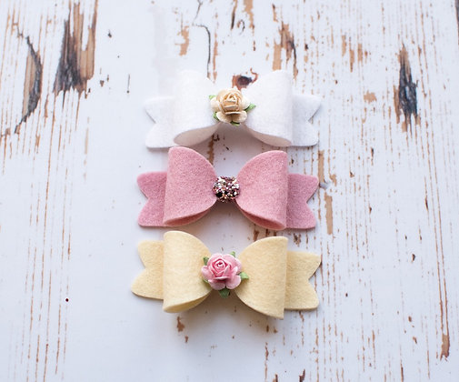 Sprinkles Small Flower Bow