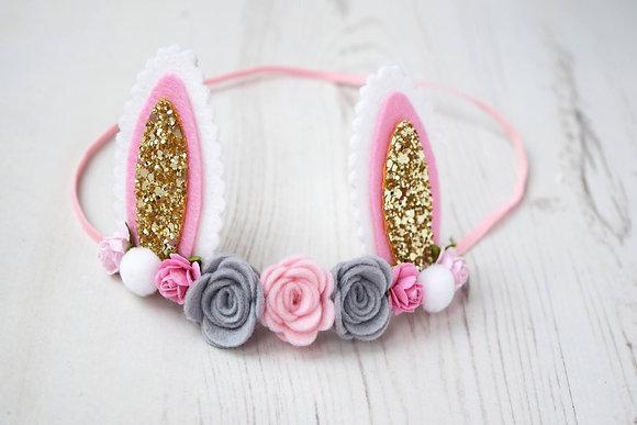 Bunny Ear Flower Crown