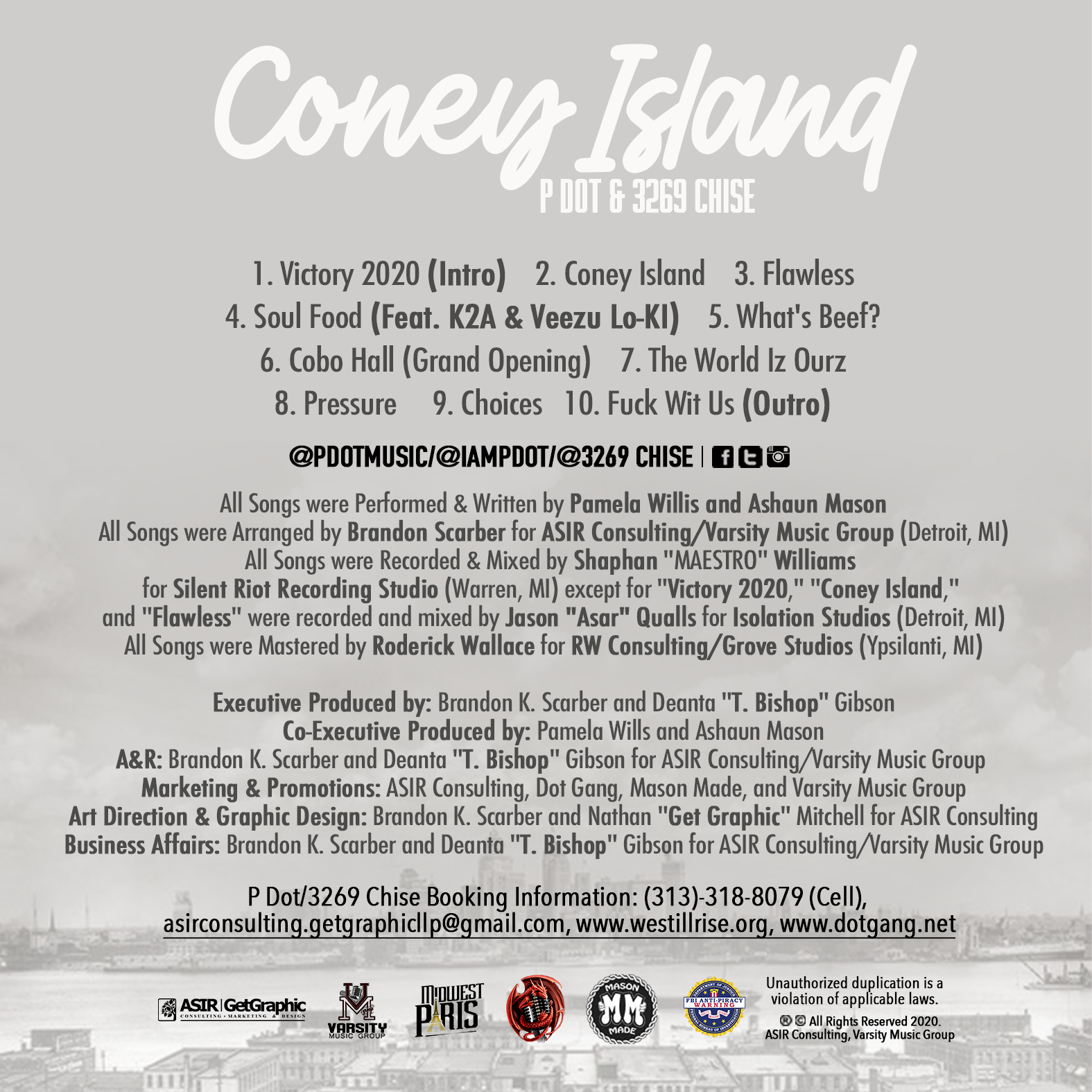 Coney Island (Back Cover)