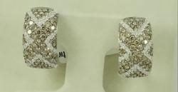chocolat diamond earring