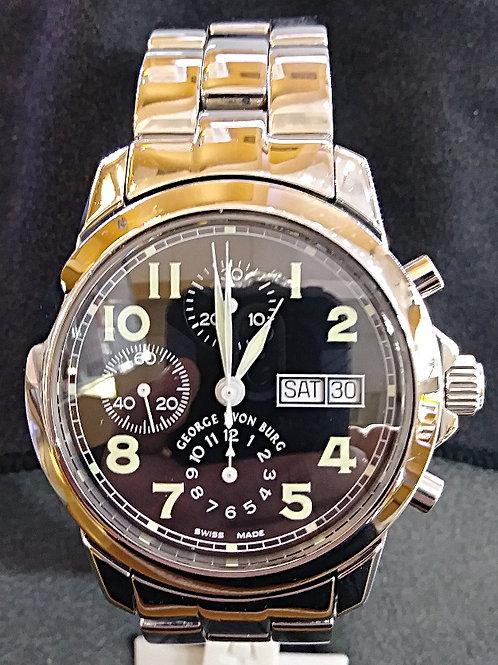 George Von Burg Chronograph watch