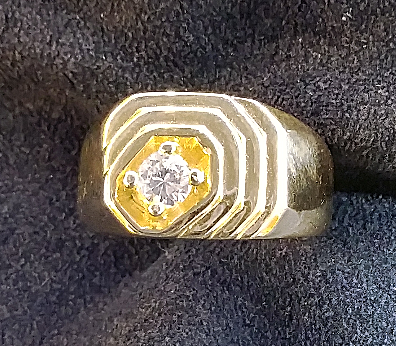 men;s diamond ring