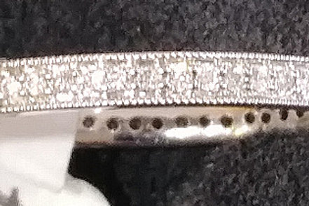 Diamond band 3/4 way