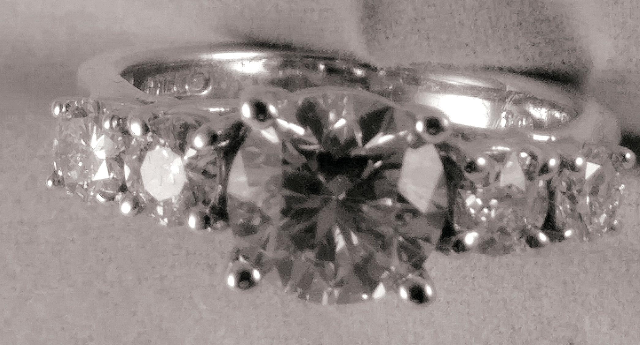 5 Stone Engagement ring