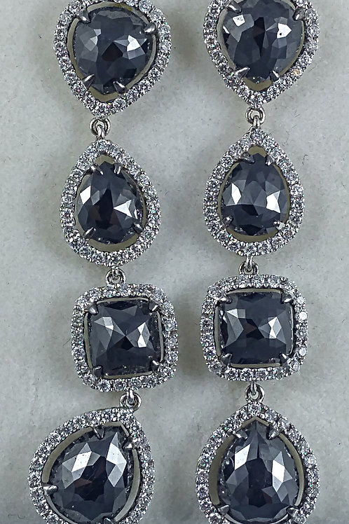 Dangling Diamond Earring