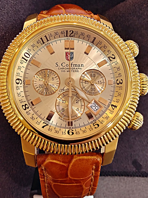 S. Coifman Chronograph watch