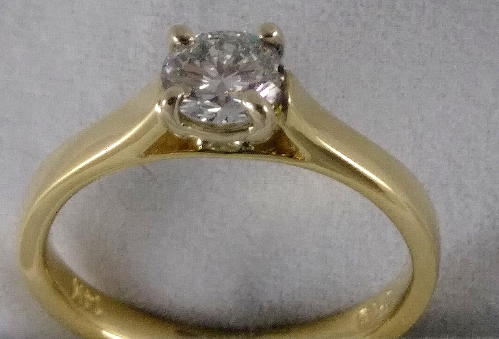 Trellis inspired Engagement Ring